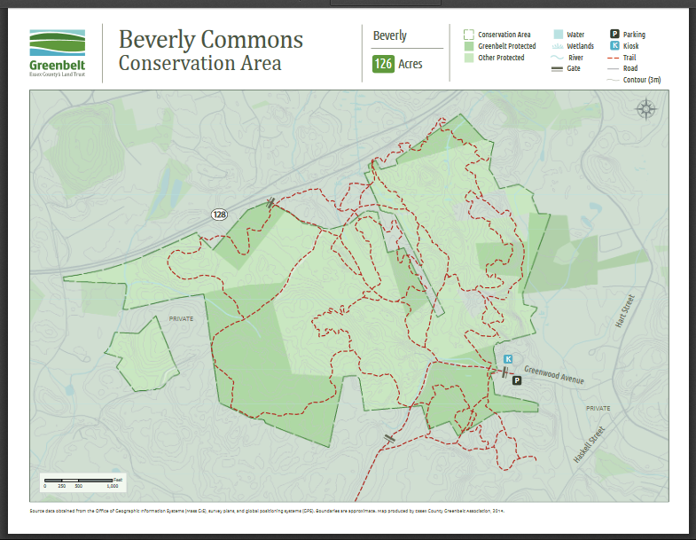 bev commons trail map