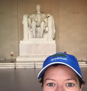 Running Around Washington,D.C.