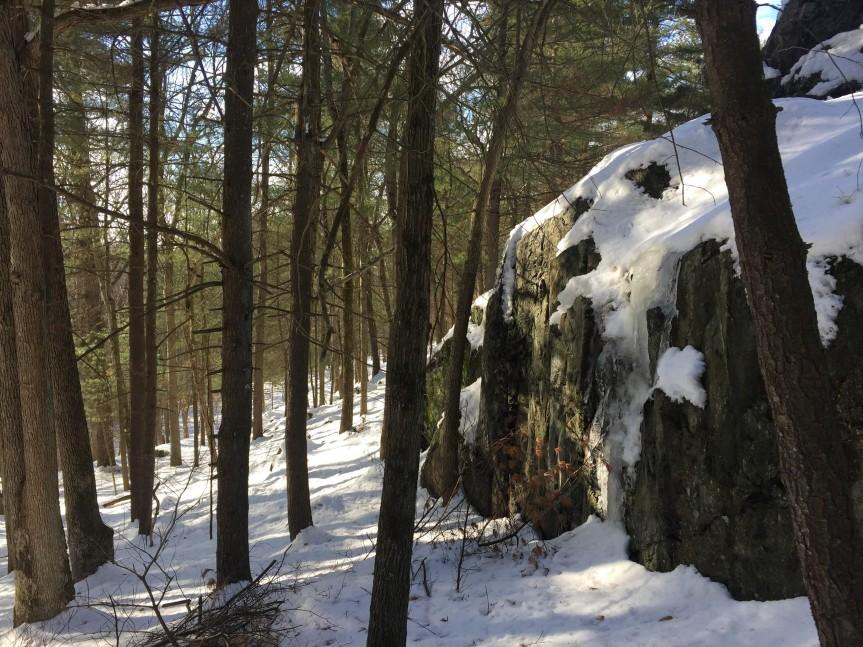 rock cliff